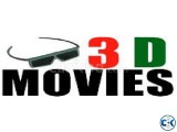 3D 400 Bluray Movies Collections