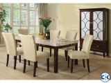 Marbel Table With 6 Chare
