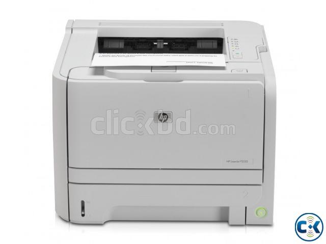 HP LaserJet P2035Print 600 x 600 dpi Printer   ClickBD large image 0