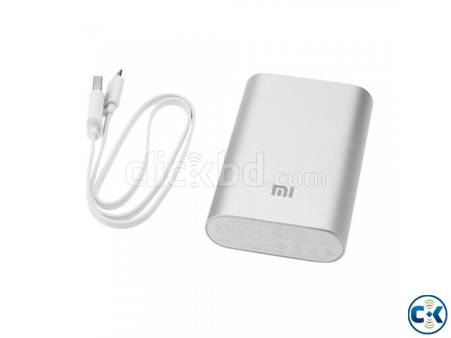 Xiaomi Mi 10000mAh Mobile Power Bank Portable Charger | ClickBD large image 0