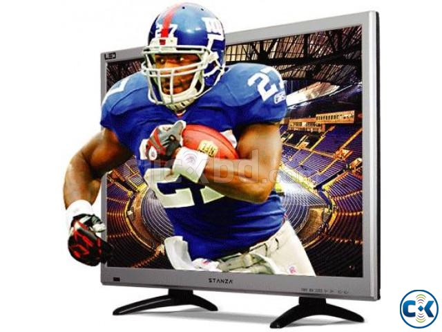 Stanza 24 Inch Energy Star USB HD LED Square Monitor TV | ClickBD large image 0