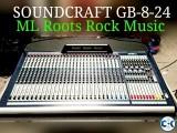 Soundcraft GB -8-24 with flight case