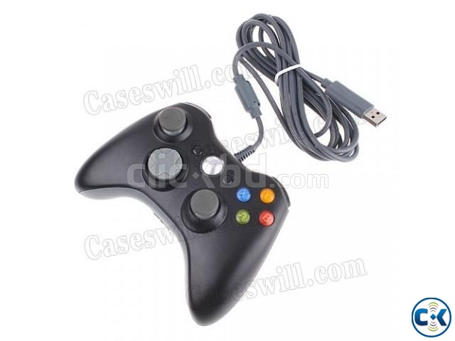 Xbox-360 wire wireless controller Brand new | ClickBD large image 1