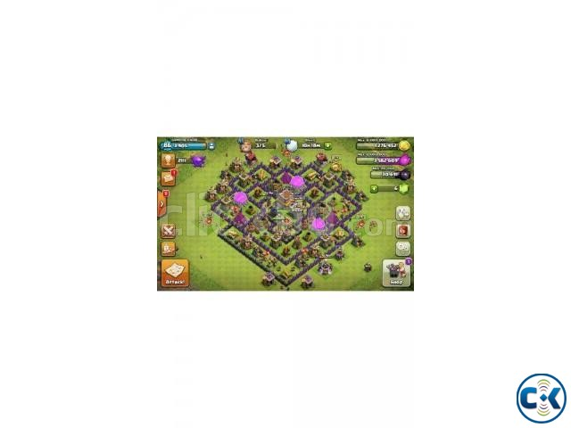 Clash Of Clans 8th Full max | ClickBD large image 0
