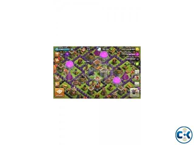 Clash Of Clans 8th Full max | ClickBD large image 1