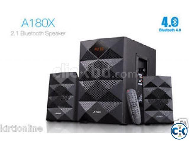 F D A180X Multimedia 2.1 Speaker Bluetooth USB FM Radio | ClickBD