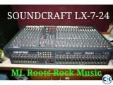 Soundcraft LX-7-24 Brand New