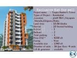 1475 sft Flat khilgaon 9th floor