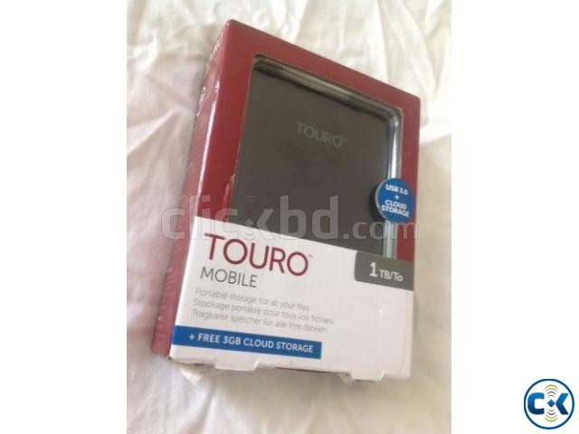 Touro 1 TB Portable Hard Disk | ClickBD large image 1