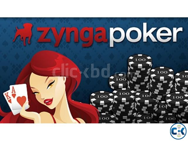 Zynga Poker Chips | ClickBD large image 0