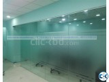Glass Partition and Glass Door