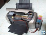 Epson R230 color printer with CISS
