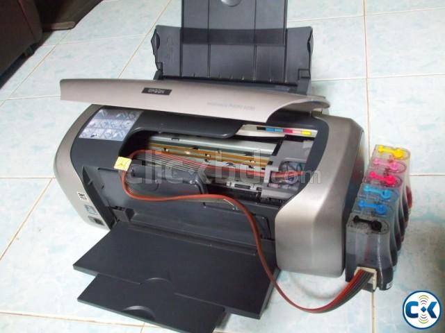 Epson R230 color printer with CISS | ClickBD large image 0