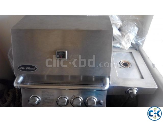 Most Popular Trolley Grill BBQ North American Machine | ClickBD large image 0