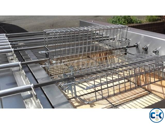 Most Popular Trolley Grill BBQ North American Machine | ClickBD large image 2