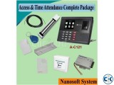 Biometric Access Time Attendance Complete Package