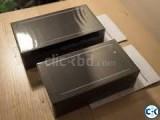 i phone 7 jet black 128GB Sealed pack 1 year apple store w