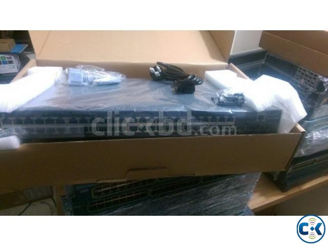 10G switch 48 port gig and 4 10G | ClickBD large image 0