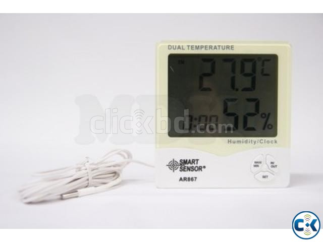 SMART SENSOR Dual Temperature Humidity Meter | ClickBD large image 0