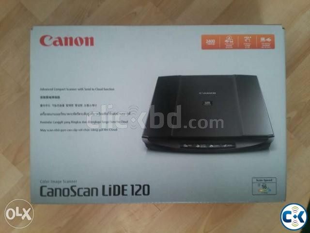 Canon LiDE 120 Compact and Stylish Flatbed Scanner | ClickBD large image 0
