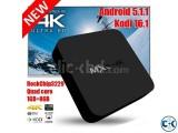 MXQ-4K Android 5.1 Quad Core Smart TV Box
