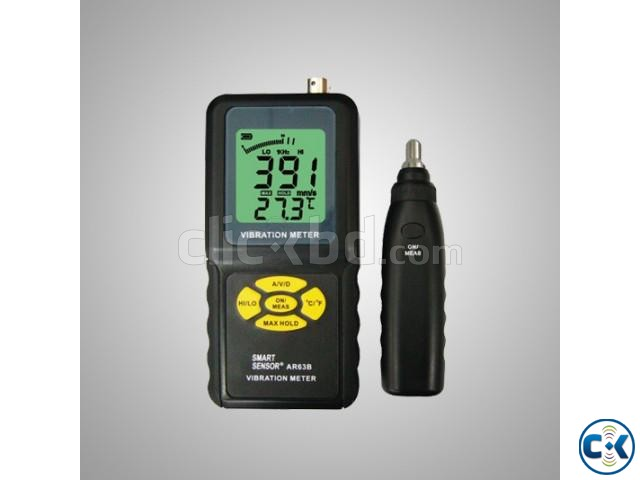 AR63B Portable Digital Vibration Measurement Instrument Vibr | ClickBD large image 3