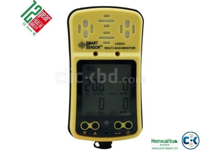 4 IN 1 Gas Detector AS8900 | ClickBD large image 3