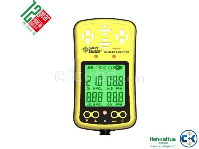 4 IN 1 Gas Detector AS8900 | ClickBD large image 4
