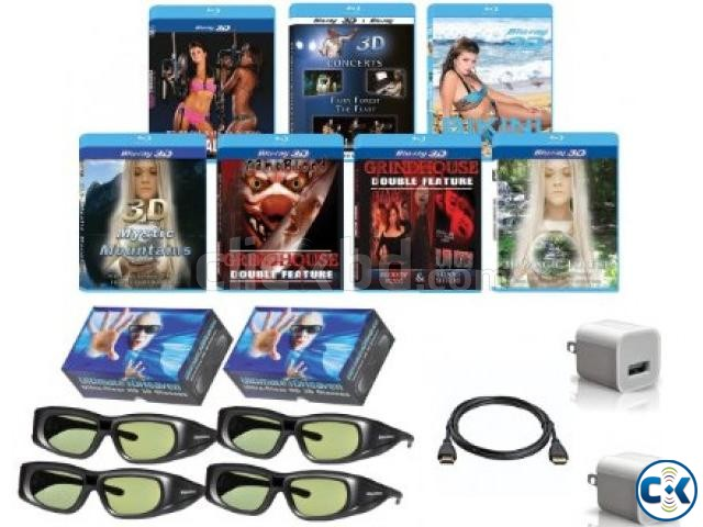 Samsung 3d glass for samsung all 3d tv ANd SONY w800c | ClickBD large image 1