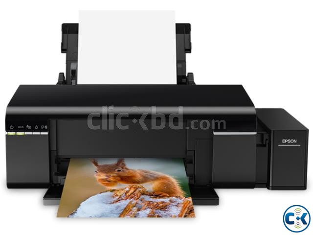 Epson L805 6 Color Wireless Ink Refill Photo Printer - See m | ClickBD large image 1