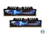 G Skill 8GB 4x2 DDR3 RAM Model Ripjaws X