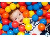 Kids colorfull Tent Balls 50 pcs