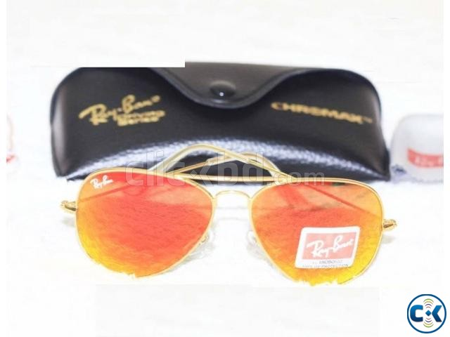 Ray Ban Gents Mercury Golden Sunglass Replica SW4031 | ClickBD large image 0