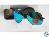 Ray Ban Gents Mercury Black Sunglass Replica SW4039