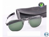 American Optical Replica Gun Metal Sunglass SW4002