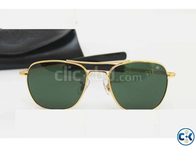 Ray Ban Gents Pilot Golden Sunglass Replica SW4042 | ClickBD large image 0