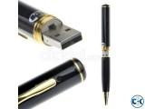 Spy Pen HD Video Recorder Hidden Pinhole Camera