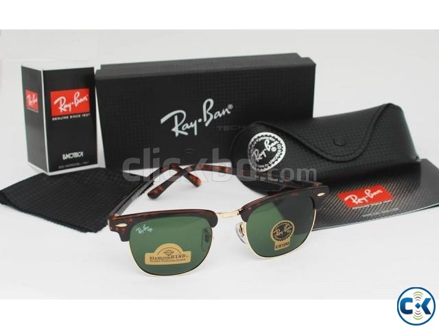 Ray Ban Gents Spotted Brown 3016 Sunglass Replica SW4075 | ClickBD large image 0