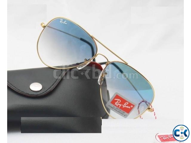 Ray Ban Gents Shades Golden Sunglass Replica SW4049 | ClickBD large image 0