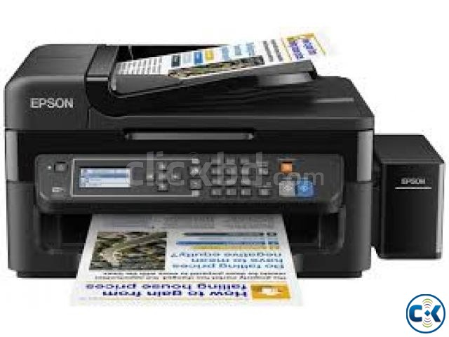 Epson L-565 Legal size All-In-One WiFi Color Inkjet Printer | ClickBD large image 1