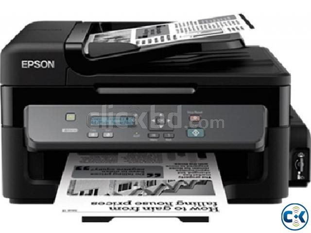 Epson M200 All-in One Black White Heavy Duty Network Printer | ClickBD large image 0