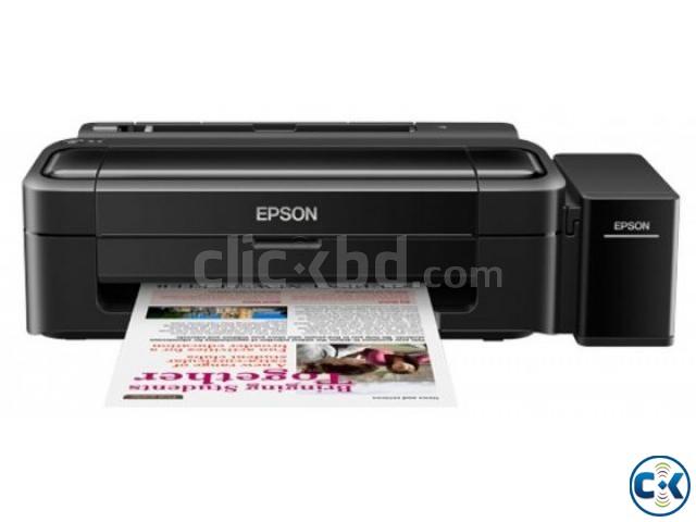 Epson L130 USB 27 PPM Speed CISS System Color Inkjet Printer | ClickBD large image 0