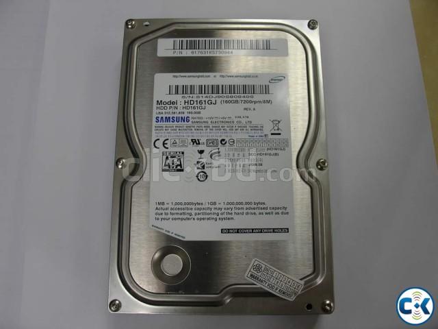 SAMSUNG MODEL HD161HJ 160GB 7200RPM 3.5 SATA HARD DRIVE HDD | ClickBD large image 0