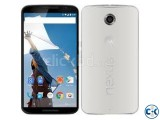 Motorola Nexus 6 Cloud White 32 GB 3 GB RAM with charger fr