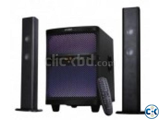 F D T-200X 2 1 Bluetooth Soundbar System Multi-Color LED | ClickBD large image 0