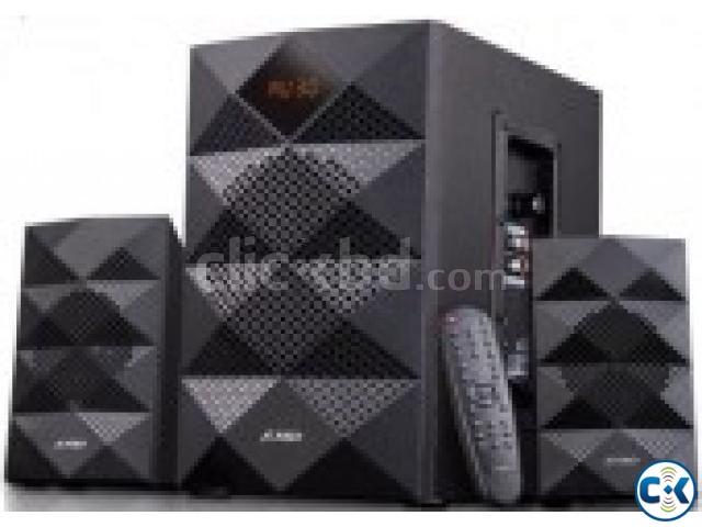 F D A180X Multimedia 2.1 Speaker Bluetooth USB FM Radio | ClickBD large image 0