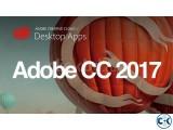 Adobe CC 2017- MAC 4DVDs