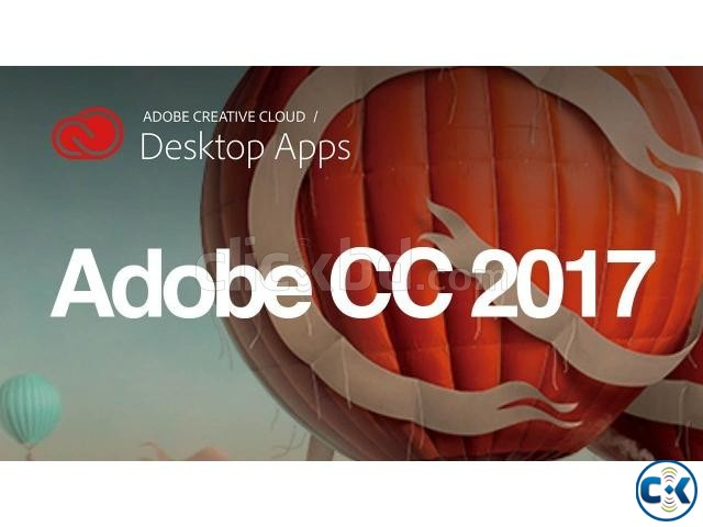 Adobe CC 2017- MAC 4DVDs | ClickBD large image 0