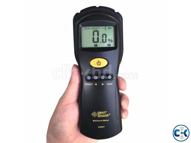 AS981 Digital Moisture Meter Measure Contented Moisture | ClickBD large image 4