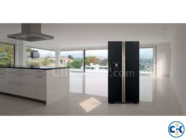 HITACHI Multi-Door Smart Fridge R-W720FPMSX | ClickBD large image 0